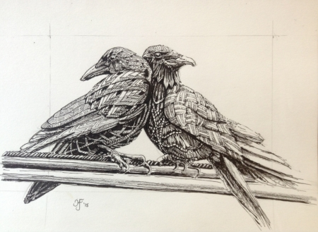 two crows joy